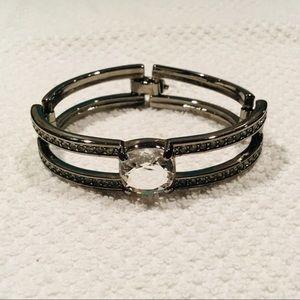 Swarovski Multifacted Crystal Bangle Bracelet